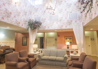 Amenities at The Elms Independent, Assisted, and Dedicated Memory Care for Seniors