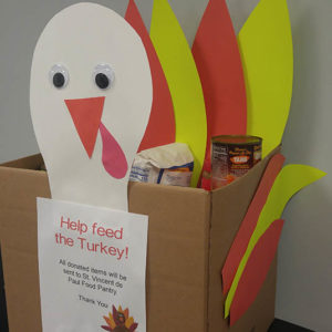 Feed the Turkey food drive at The Elms Westerly RI