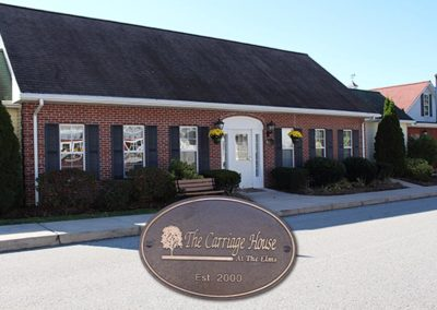 The Carriage House offers dedicated memory care for seniors.