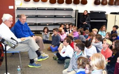Elm's Resident Discusses His Book with Local Students